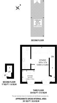 Large floorplan for Lavender Hill, Battersea, SW11