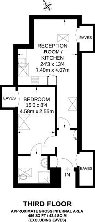 Large floorplan for High Street, Hampton, TW12