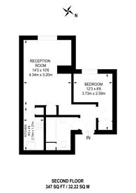 Large floorplan for Colville Gardens, Portobello, W11