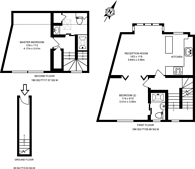 Large floorplan for Southfield Road, Chiswick, W4