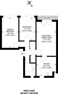 Large floorplan for Francis Road, Harrow, HA1