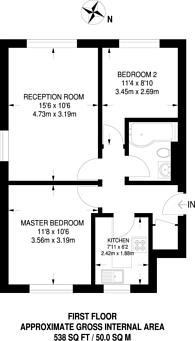 Large floorplan for Whisperwood Close, Harrow Weald, HA3