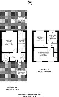 Large floorplan for Keedonwood Road, Bromley, BR1