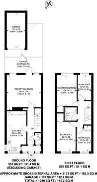 Large floorplan for Shifford Path, Forest Hill, SE23