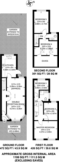 Large floorplan for Gosport Road, Walthamstow, E17
