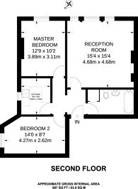 Large floorplan for Belsize Park NW3, Belsize Park, NW3