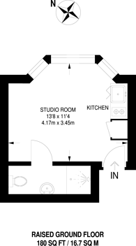 Large floorplan for Holland Road, Kensington, W14