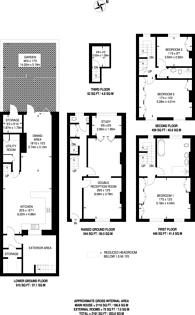 Large floorplan for Matilda Street, Barnsbury, N1
