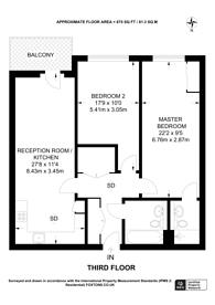 Large floorplan for Stanley Road, Wimbledon, SW19