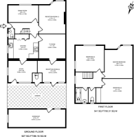 Large floorplan for West Barnes Lane, New Malden, KT3