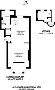 Large floorplan for Tavistock Road, Notting Hill, W11