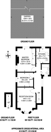 Large floorplan for Bromley Road, Beckenham, BR3