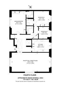 Large floorplan for Hoptree Close, Woodside Park, N12