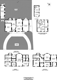 Large floorplan for Champion Hill, Denmark Hill, SE5