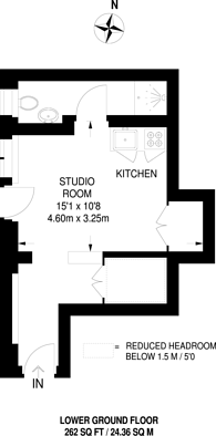 Large floorplan for Halkin Place, Belgravia, SW1X