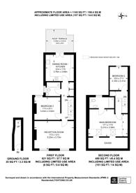 Large floorplan for Seaforth Avenue, New Malden, KT3