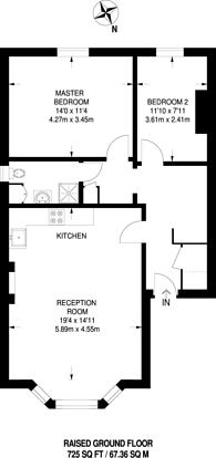 Large floorplan for Montague Road, Richmond, TW10