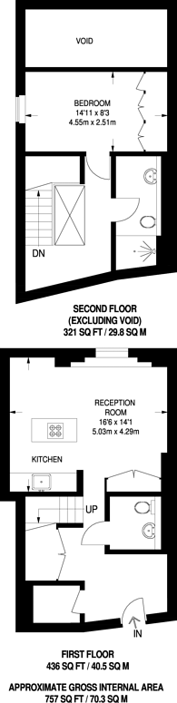 Large floorplan for Marconi House, The Strand, WC2R
