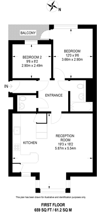 Large floorplan for Rotherhithe Street, Rotherhithe, SE16