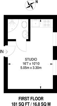 Large floorplan for Rotherhithe New Road, Bermondsey, SE16