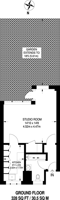 Large floorplan for Camden Street, Camden, NW1