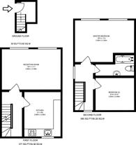 Large floorplan for Dunton Road, Bermondsey, SE1