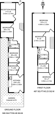 Large floorplan for Bishops Way, Bethnal Green, E2