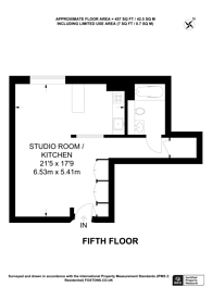 Large floorplan for Westcliffe Apartments, Paddington, W2