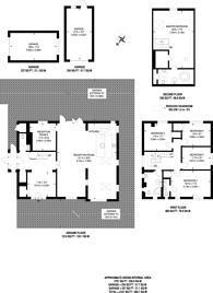 Large floorplan for Rodney Road, New Malden, KT3
