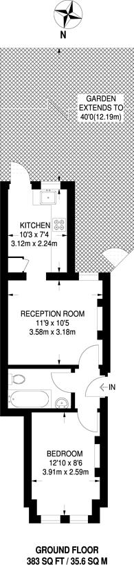 Large floorplan for Victoria Road, New Barnet, EN4