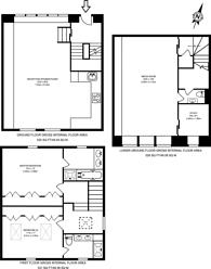 Large floorplan for Pont Street Mews, Knightsbridge, SW1X