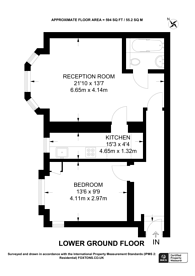 Large floorplan for Mount View Rd, Stroud Green, N4