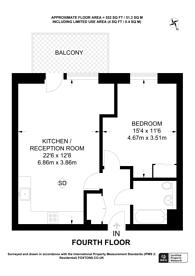 Large floorplan for West Row, North Kensington, W10