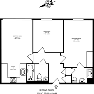 Large floorplan for High Street, Colliers Wood, SW19