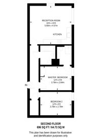 Large floorplan for Junction Road, Tufnell Park, N19