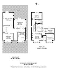 Large floorplan for Catlins Lane, Pinner, HA5