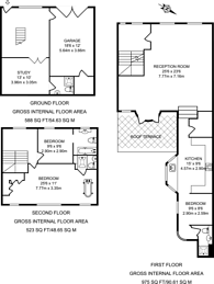 Large floorplan for Devonshire Place Mews, Marylebone, W1G