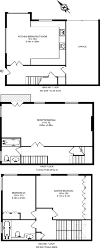Large floorplan for Lowndes Close, Belgravia, SW1X