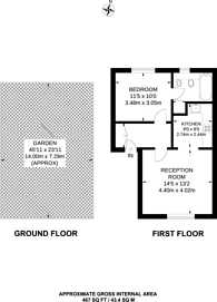 Large floorplan for Stoke Newington Church Street, Stoke Newington, N16