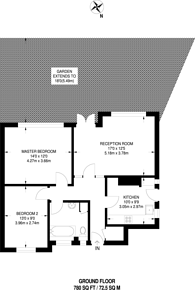 Large floorplan for Upper Brighton Road, Surbiton, KT6