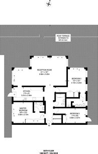 Large floorplan for Smugglers Way, Wandsworth, SW18