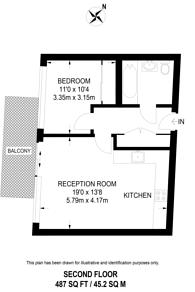 Large floorplan for Devizes Street, Shoreditch, N1