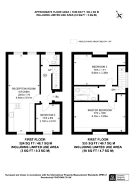 Large floorplan for Penn Road, Hillmarton Conservation Area, N7