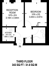 Large floorplan for Grafton Way, Bloomsbury, WC1E