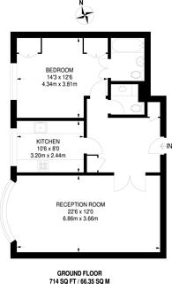 Large floorplan for Wimbledon Park Side, Wimbledon Park, SW19