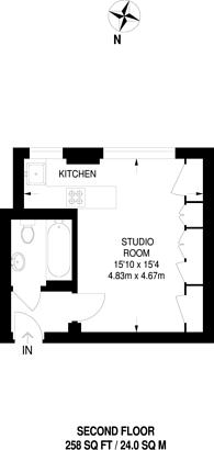 Large floorplan for Balham High Road, Balham, SW17