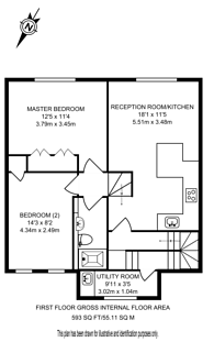Large floorplan for Chilworth Mews, Paddington, W2