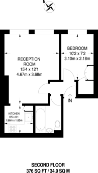Large floorplan for Sinclair Road, West Kensington, W14