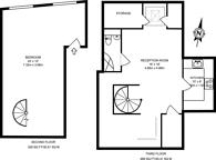 Large floorplan for Rivington Street, Shoreditch, EC2A