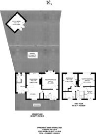 Large floorplan for Bushy Hill Drive, Bushy Hill, GU1